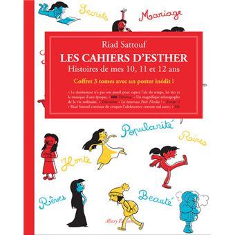 Les cahiers d'EstherCoffret Les Cahiers d'Esther - 3 tomes - Histoires de mes 10, 11, et 12 ans