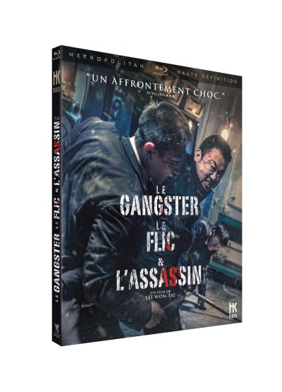 blu-ray de gangster flic assassin
