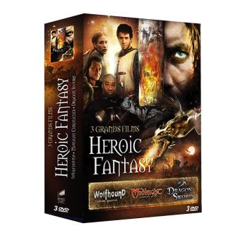 Coffret 3 grands films d'Heroic Fantasy DVD