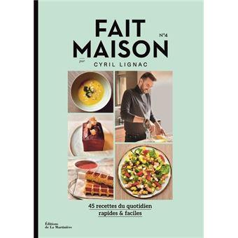 Livre de cuisine Dlm Saveurs FAIT MAISON N4