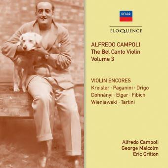 The Bel Canto Violin Volume 3