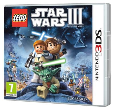 Lego Star Wars 3 The Clone Wars 3DS