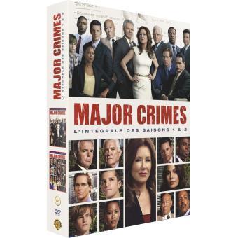 Major CrimesMajor Crimes Saisons 1 et 2 Coffret DVD