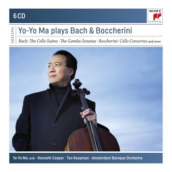 PLAYS BACH AND BOCCHERINI/6CD