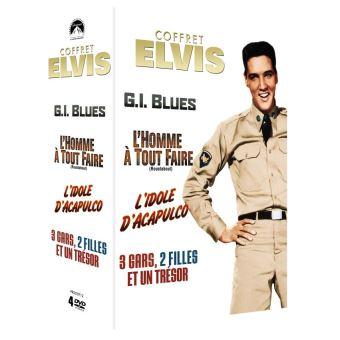 Coffret Elvis numéro 2, 4 films DVD