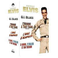 COFFRET ELVIS VOL1 4 FILMS/4DVD-FR