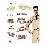 Coffret Elvis Numéro 1, 4 Films DVD