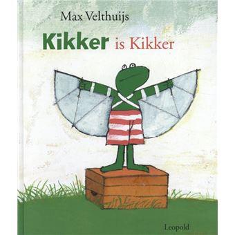 """Kikker is Kikker ( Campagne """"Geef een boek cadeau"""")"""