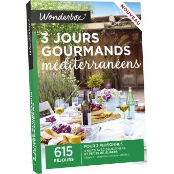 Wonderbox 3 Jours Gourmands Mediterraneens