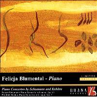 PIANO CONCERTOS BY SCHUMANN-SAINT-SAENS-KUHLAU
