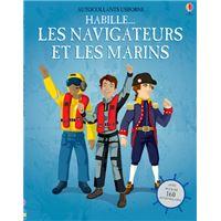 Habille... Les Navigateurs et les Marins - Autocollants Usborne