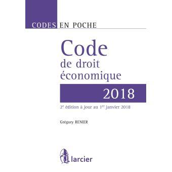 Code en poche - Code de droit économique 2018