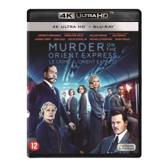 Murder on the orient express-BIL-BLURAY 4K