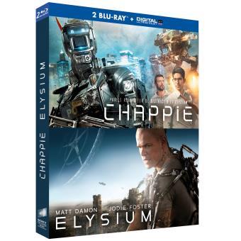 Coffret Chappie + Elysium Blu-ray