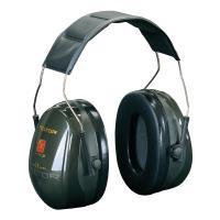 Casque protection auditive 3M Peltor Optim II Grand confort Vert foncé