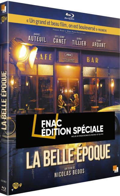 blu-ray du film la belle époque