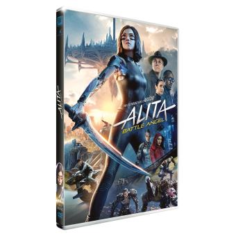 Alita Battle AngelAlita Battle Angel DVD