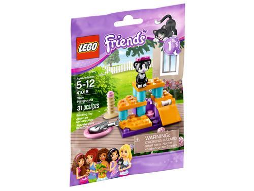 LEGO® Friends 41018 Le chat et son aire de jeu