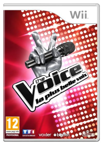 The Voice : La plus belle voix Wii