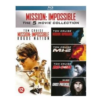 MISSION: IMPOSSIBLE 1-5-BOX 5BLURAY-NL
