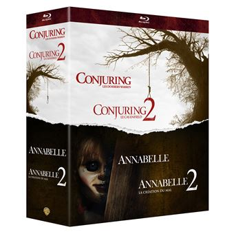 ConjuringCoffret Annabelle 1 et 2 Conjuring 1 et 2 Blu-ray