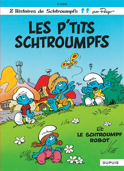 Les P'tits Schtroumpfs et Le Schtroumpf robot