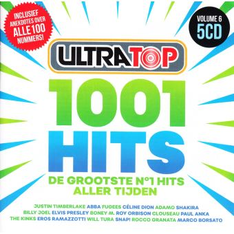 ULTRATOP 100# HITS VOL.6/5CD