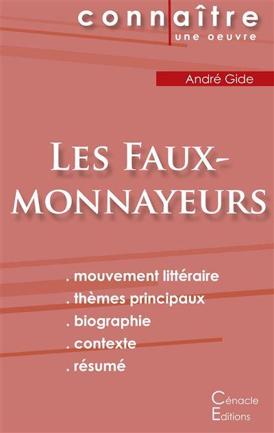 Fiche de lecture Les Faux-monnayeurs d'André Gide (Analyse littéraire de référence et résumé complet)