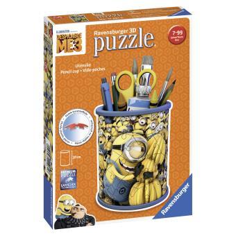 Puzzle 3D 54 pièces Pot à crayons Moi, moche et méchant 3 Ravensburger