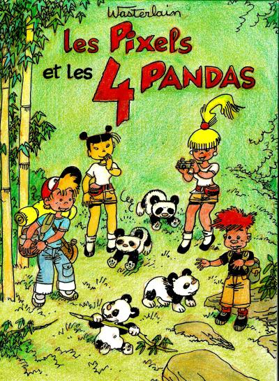 Les pixels et les pandas