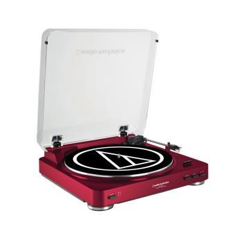 platine vinyle audio technica lp60 rouge platine vinyle achat prix fnac. Black Bedroom Furniture Sets. Home Design Ideas