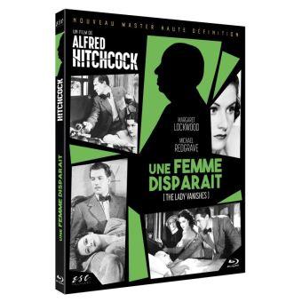 Une femme disparaît Blu-ray
