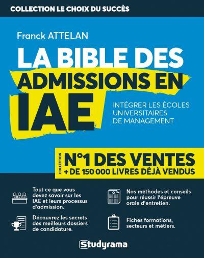La bible des admissions en iae