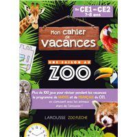 Cahier de vacances Une saison au Zoo CE1-CE2 Cycle 2