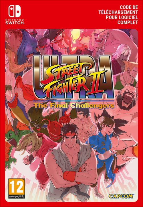 Code de téléchargement Street Fighter II The Final Challengers Nintendo Switch