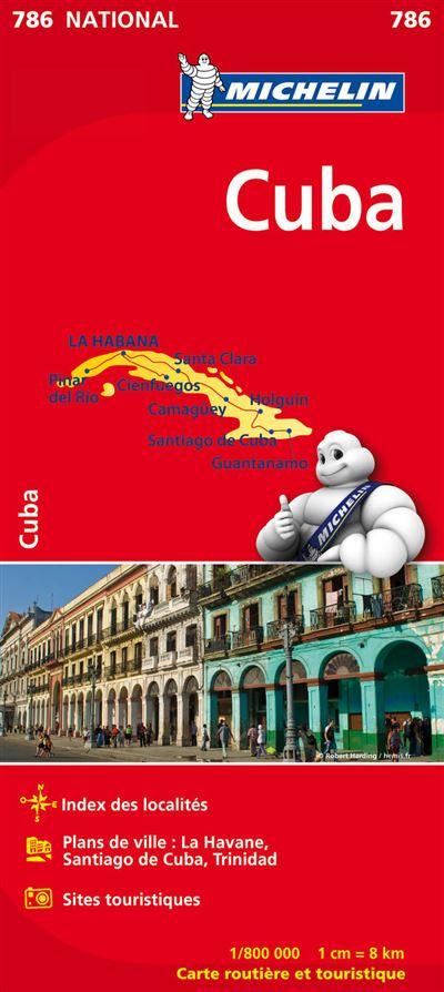 Carte Cuba Michelin