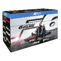 Coffret Fast and Furious - L'Intégrale 6 Films Blu-Ray