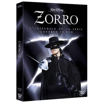 ZorroZorro Intégrale des Saisons 1 à 3 Coffret DVD