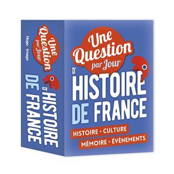 Une Question Par Jour D Histoire De France 2018