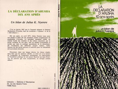 La Déclaration d'Arusha dix ans après
