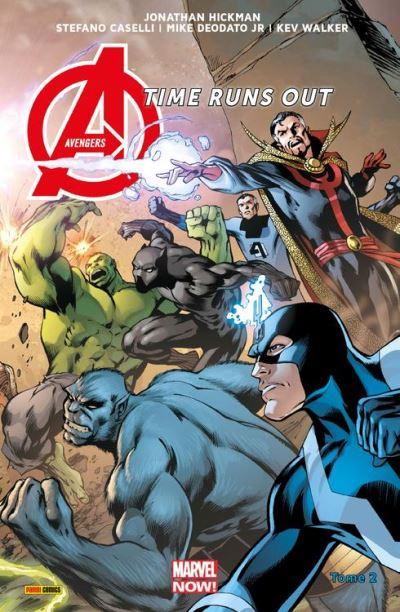 Avengers Time Runs Out (2013) T02 - Tu ne peux pas gagner - 9782809464573 - 9,99 €