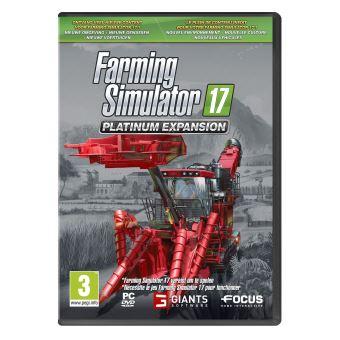 FARMING SIMULATOR 17 PLATINUM EXPANSION PACK MIX PC