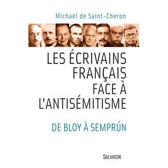 Les écrivains français et l'antisémitisme