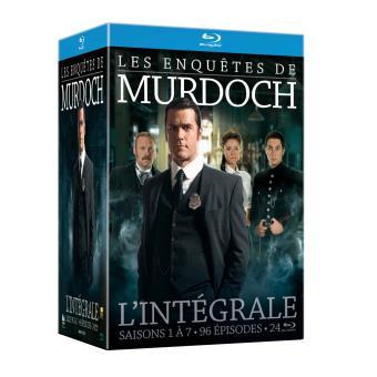 Les Enquêtes de MurdochCoffret Les Enquêtes de Murdoch Saisons 1 à 7 Blu-ray
