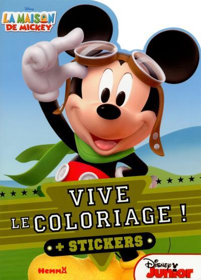 La Maison de Mickey - Tome 2 : La maison de Mickey Vive le coloriage (Lunettes)
