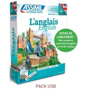 Pack USB l'anglais