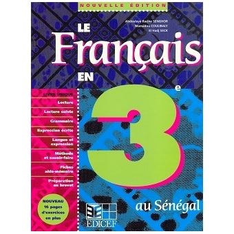 Le Francais En 3e Senegal Eleve