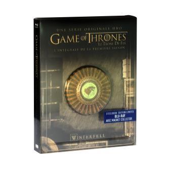 Game Of Thrones, Le trône de ferGame Of Thrones Saison 1 Steelbook Blu-ray
