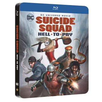 Suicide SquadSuicide Squad Hell to Pay Edition Limitée Steelbook Blu-ray