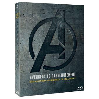 AvengersCoffret Avengers Le rassemblement L'intégrale Blu-ray